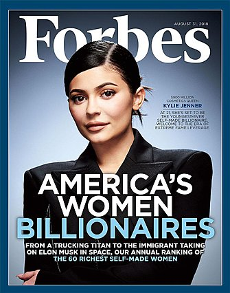 Έκπληξη: Ποια  έκλεψε  στην πρώτη θέση των πιο ακριβοπληρωμένων celebrities του κόσμου από την Kylie Jenner