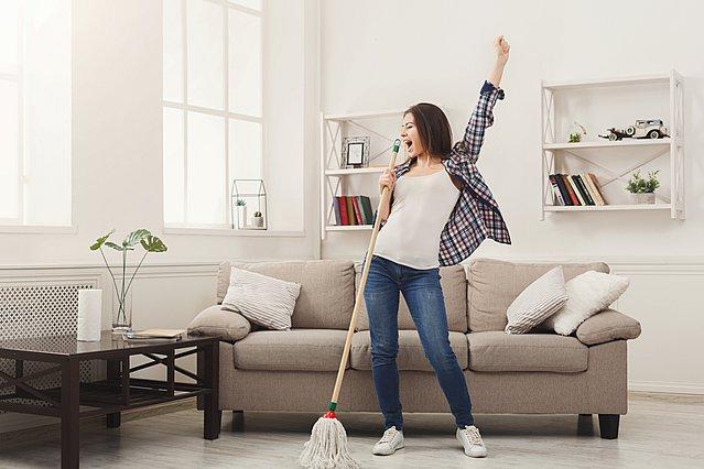 Τα 11 πιο συνηθισμένα λάθη που κάνεις όταν καθαρίζεις το σπίτι