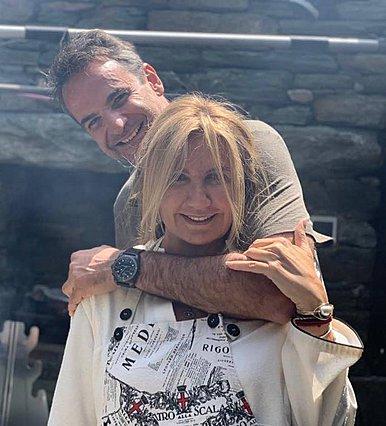 Κυριάκος και Μαρέβα Μητσοτάκη: Έτσι πέρασαν το απόγευμα της Κυριακής [Photo]