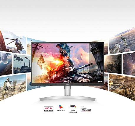 Ατελείωτο gaming με καθαρές σκηνές, ζωντανές εικόνες και ελαχιστοποίηση χρωματικής απόκλισης από τα νέα HDR UHD 4K monitors της LG