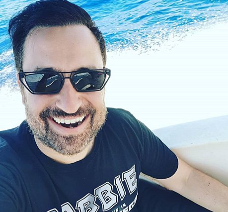 Θέμης Γεωργαντάς: Το απίστευτο throwback με τον Σάκη Ρουβά και τον Χριστόφορο Παπακαλιάτη