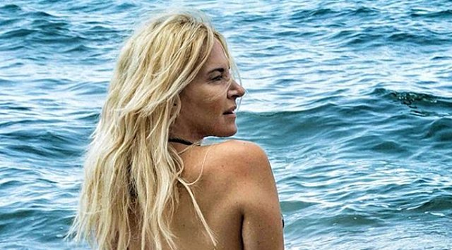 Μαρία Ανδρούτσου: Γιόρτασε με λευκό μπικίνι και έριξε το Instagram! [Photo]