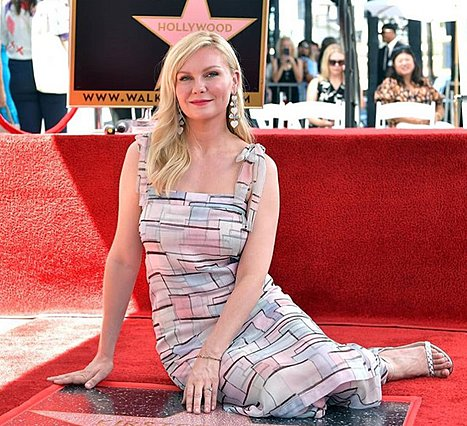 Kirsten Dunst: Απέκτησε το δικό της αστέρι στο Hollywood Walk of Fame