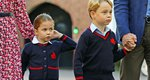 George και Charlotte: Η φωτογραφία από την πρώτη μέρα του σχολείου που δεν είχαμε δει