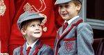 Ταξίδι στον χρόνο: Πρώτη μέρα στο σχολείο για τους πρίγκιπες William και Harry [photos]