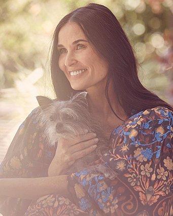 Demi Moore: Το πρώτο πορτρέτο της καριέρας της και το σχόλιο της κόρης της, Talulah