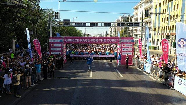 11ο Greece Race for the Cure® & 33ος Γύρος της Αθήνας του ΟΠΑΝΔΑ: 40.000 και... συνεχίζουμε
