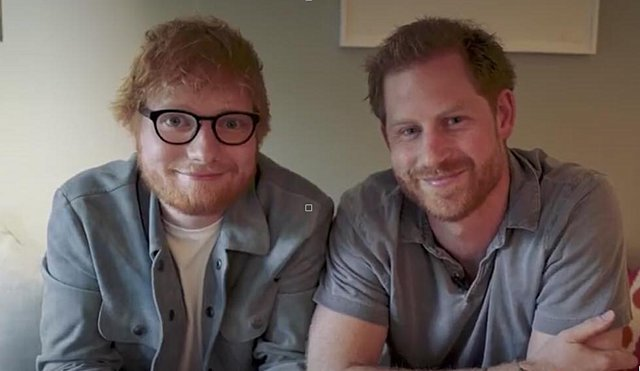 Πρίγκιπας Harry και Ed Sheeran:  Κανείς δεν καταλαβαίνει τι περνάμε  [video]
