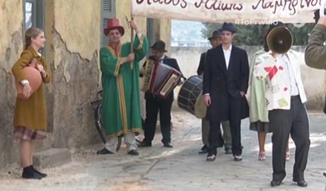Όταν η Δρόσω συνάντησε τον Ίαν - Σκηνές από το πρώτο γύρισμα του νέου ζευγαριού στο Διαφάνι [video]