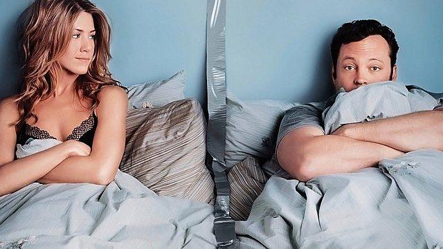 "<p>Η Jennifer Aniston και ο Vince Vaughn στην ταινία του 2006 ""The Break Up""</p>"