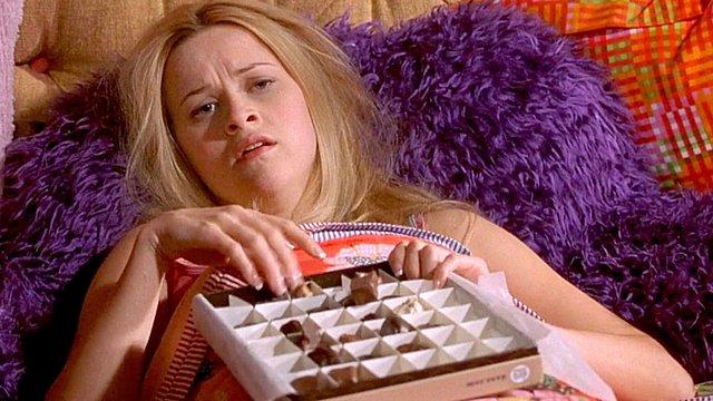 <p>Η Reese Witherspoon στο Legally Blonde! Σίγουρα δεν το πήρε καλά!!</p>