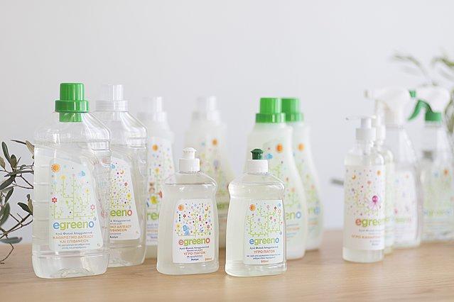 Super διαγωνισμός Egreeno: Κερδίστε τα καλύτερα φυσικά προϊόντα καθαρισμού!