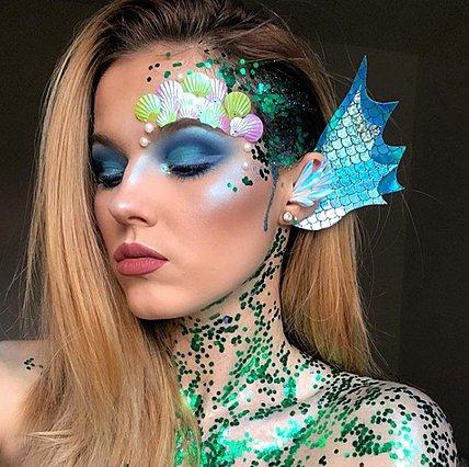 Σκέφτεσαι να ντυθείς γοργόνα; Δες αυτά τα υπέροχα makeup looks