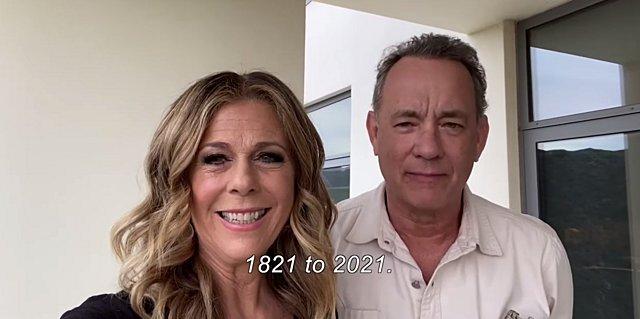 Επικό βίντεο: «Ελάτε στην Ελλάδα» προσκαλούν όλο τον κόσμο ο Tom Hanks και η Rita Wilson