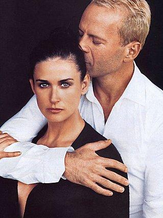 <p>Η φωτογραφία του πρώην ζεύγους είναι από το 1996 όταν πόζαραν μαζί σε καμπάνια της Donna Karan</p>