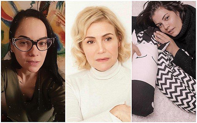 Κατερίνα Τσάβαλου, Κωνσταντίνα Μιχαήλ, Μαρία Κορινθίου: Μένουν σπίτι και μοιράζονται σκέψεις, συναισθήματα και από ένα μήνυμα