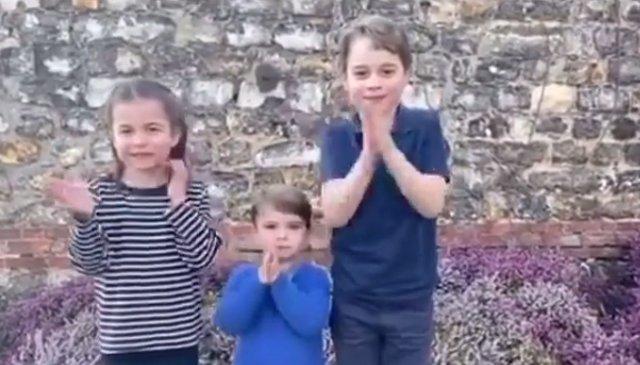 Charlotte, Louis και George: Το νέο βίντεο με τα πριγκιπόπουλα έχει κάνει ρεκόρ στο instagram -και όχι άδικα