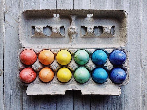 Πασχαλινά αυγά: 25 διαφορετικές ιδέες για να τα βάψεις - Όλες σε ένα βίντεο