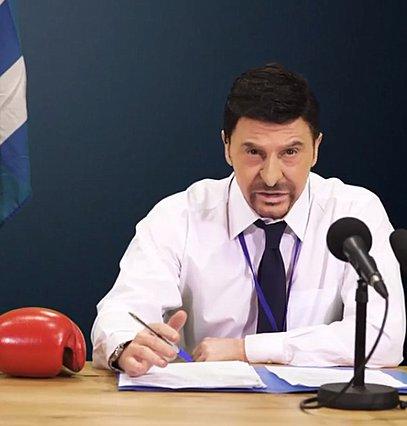 Ο Τάκης Ζαχαράτος γίνεται Νίκος Χαρδαλιάς και...  κλαίμε  [video]