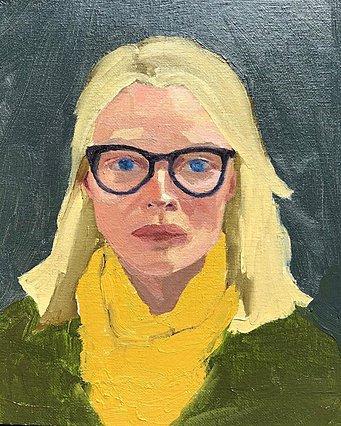 Όταν η Michelle Pfeiffer ζωγραφίζει τη Michelle Pfeiffer