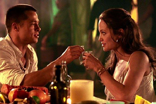 <p>Η Angelina και ο Brad στην ταινία Mr & Mrs Smith. Εκεί όπου ξεκίνησαν όλα, το 2005.</p>