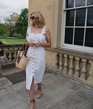 Πώς να φορέσεις το λευκό φόρεμα