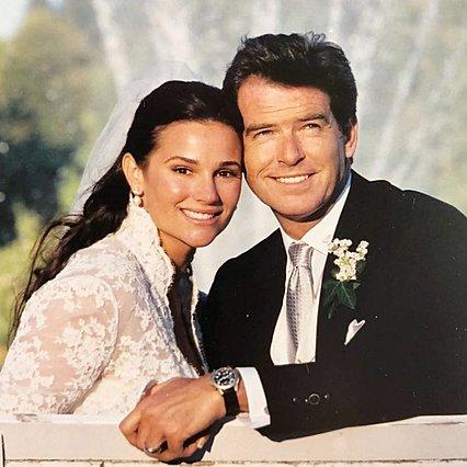 19η επέτειος γάμου για τον Pierce Brosnan και τη σύζυγό του: Οι γεμάτες αγάπη αναρτήσεις και μία απορία