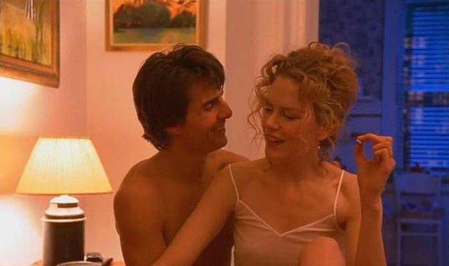 """<p>Ο Tom Cruise και η Nicole Kidman στην αμφιλεγόμενη ταινία του Stanley Kubrick """"Eyes Wide Shut"""", το 1999. Ο γάμος τους τελείωσε δύο χρόνια αργότερα.</p>"""