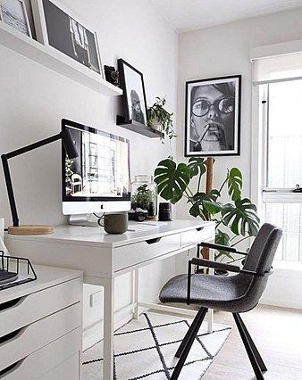 Πώς να διαμορφώσεις ένα χώρο γραφείου σε ένα μικρό σπίτι