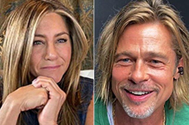 Jennifer Aniston - Brad Pitt: Οι πρώτες εικόνες από το τηλεοπτικό τους reunion