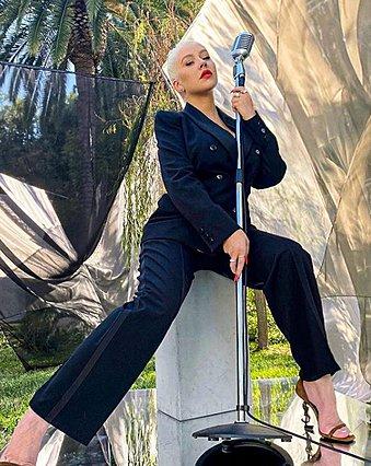 Christina Aguilera:  Δεν πρόκειται να κάνω δίαιτα. Χωνέψτε το
