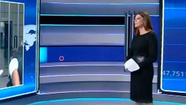 Λίνα Δρούγκα: Έξαλλη στον αέρα του δελτίου ειδήσεων του Open - Τι έπιασαν οι κάμερες; [Βίντεο]