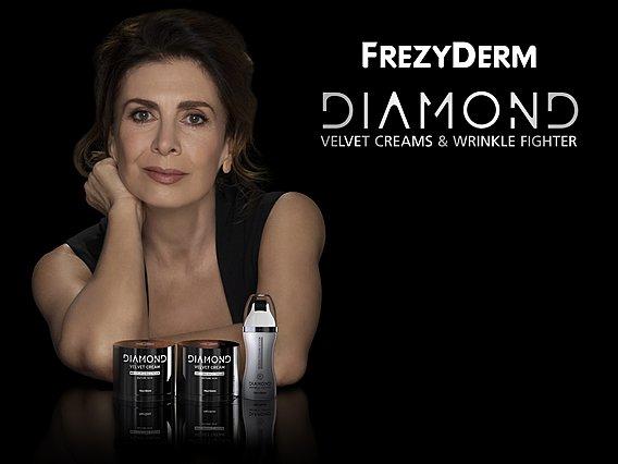Η Κατερίνα Διδασκάλου Brand Ambassador της FREZYDERM για τη σειρά προϊόντων DIAMOND Velvet