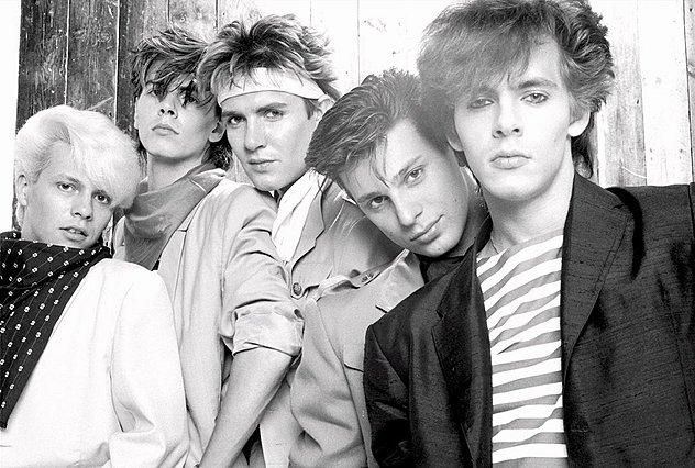 <p>Οι Duran Duran την εποχή της μεγάλης δόξας τους. Από αριστερά οι Andy Taylor, John Taylor, Simon Le Bon, Roger Taylor και Nick Rhodes<br /> </p>