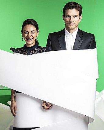 Mila Kunis - Ashton Kutcher:  Κάνουμε μπάνιο μόνο όταν φαίνεται η βρωμιά