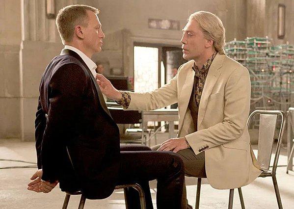 <p>Daniel Craig και Javier Bardem, Ιχθείς αμφότεροι!</p>