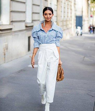 Πώς να φορέσεις το λευκό παντελόνι
