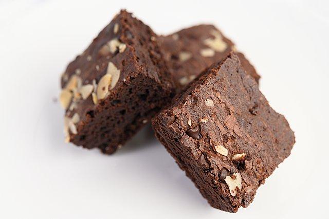 Η συνταγή για brownies με φυστικοβούτυρο, χωρίς γλουτένη και αλεύρι
