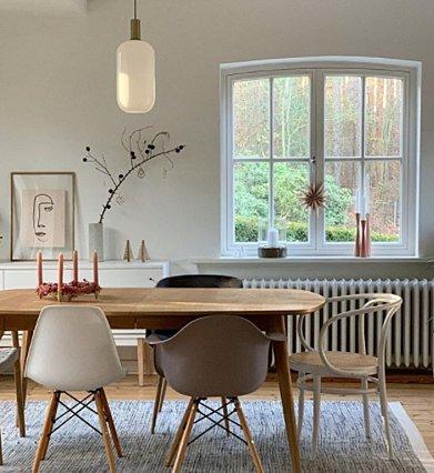 Πώς να ενσωματώσεις διαφορετικές καρέκλες στο σπίτι σου