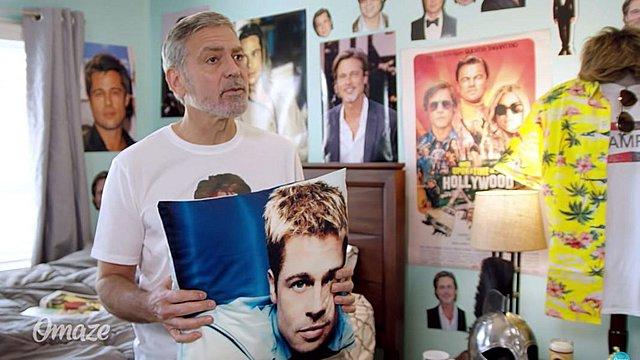 Ο George Clooney σε προσκαλεί στο σπίτι του - Η  εμμονή  του με τον Brad Pitt και το βίντεο που έγινε viral