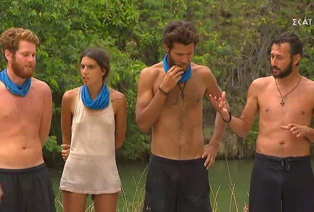 Survivor Αποκάλυψη: Ο Τζέιμς, ο Νίκος και η Άννα Μαρία  έδιωξαν  τον Πάνο Καλίδη [video]