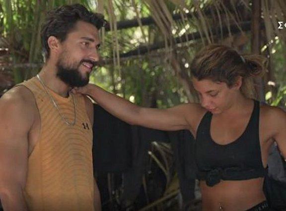 Survivor: Η αποχώρηση της Νικολέτας και τα λόγια αγάπης μεταξύ Σάκη και Μαριαλένας [video]