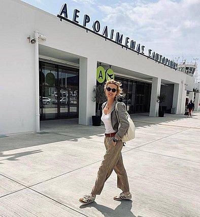 Η Eva Herzigova ήρθε στην Ελλάδα - Έτσι την καλωσόρισε η Βίκυ Καγιά
