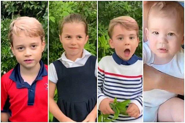 George, Charlotte, Louis, Archie, Lili; Τι λένε τ' άστρα για τα πέντε πριγκιπόπουλα βάσει των γενεθλίων τους;