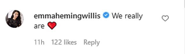 Demi Moore: Η τρυφερή αφιέρωση στον Bruce Willis και το σχόλιο της νυν συζύγου εκείνου