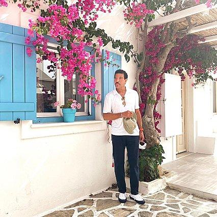 Και ο Lionel Richie στην Ελλάδα με όλη την οικογένεια - Ναι, είναι και η Sofia και η Nicole μαζί του