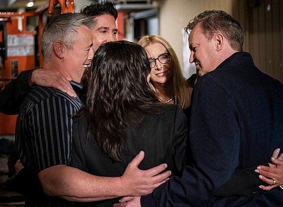 Και όμως! Έγινε και άλλο Reunion των Friends!