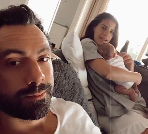 Σάκης Τανιμανίδης: Έτσι ευχήθηκε στη Χριστίνα Μπόμπα για τα γενέθλιά της [video]