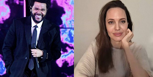 Angelina Jolie: Το μυστικό δείπνο με τον Weeknd και η -πιο πιθανή- εξήγηση