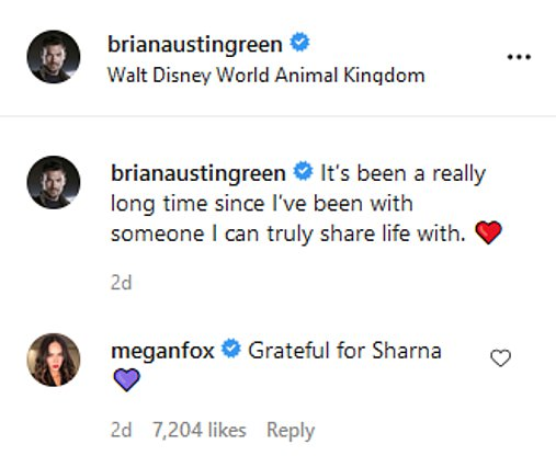 Megan Fox: Το σχόλιο-έκπληξη σε φωτογραφία του πρώην της με τη νέα του σχέση